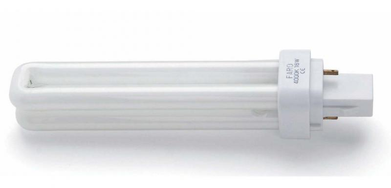 Bec PL G24 D1 18Watt 4000K neutral white light 15904 Faro Barcelona, corpuri de iluminat, lustre