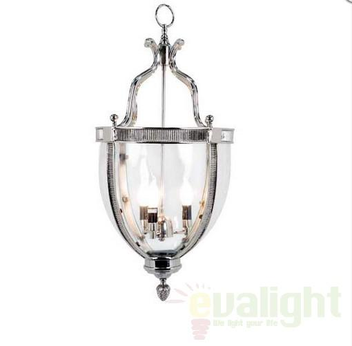 Pendul realizat manual, metal finisaj nickel, Urn 104460 HZ, corpuri de iluminat, lustre